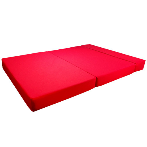 red fold out guest sofa z bed sleeping mattress studio
