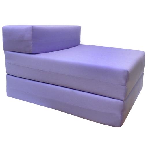 Matelas studio violet l 39 ext rieur canap z lit de sommeil - Matelas pour canape exterieur ...
