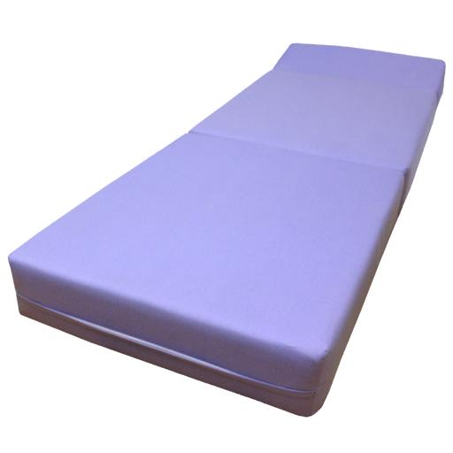 Purple Fold Out Guest Sofa Z Bed Sleeping Mattress Studio ...