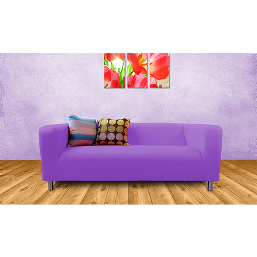 Purple Cover Slipcover To Fit Ikea Klippan 2 Or 4 Seater