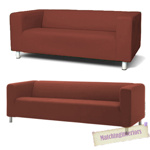 Image Is Loading Wine Cover Slipcover To Fit Ikea Klippan 2
