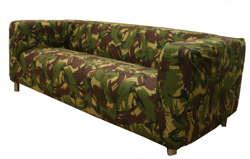 custom cover slipcover to fit ikea klippan 2 seater sofa