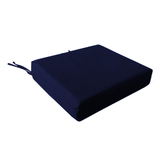 100 Cotton Cover Square Memory Foam Floor Seat Pad  : Wheelchair20Cushion20Navy from www.ebay.co.uk size 512 x 512 jpeg 38kB