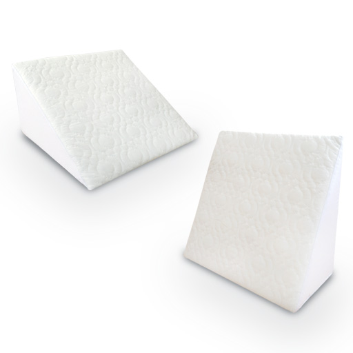 Reclining-Quilted-Orthopaedic-Foam-Bed-Wedge-Back-Support-