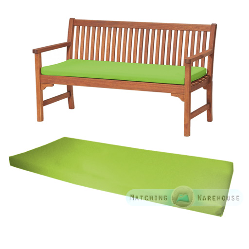 Outdoor Waterproof 3 Seater Bench / Swing Seat Cushion ONLY Garden Furniture Pad