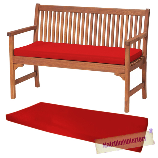 Red or seat bench swing garden pad home floor