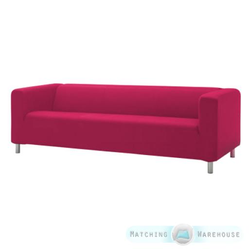 Slipcover pour ikea klippan 4 canap sofa coton housse canap ebay - Housse pour canape ikea ...