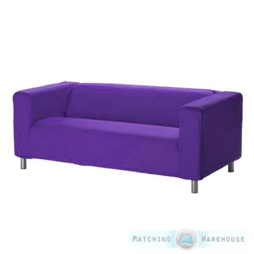 Slipcover For Ikea Klippan 2 Seater Sofa Sofa Cover Throw Loveseat Cotton Twill Ebay