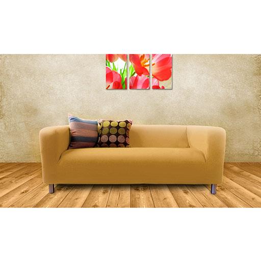 slipcover for ikea klippan 2 seater sofa sofa cover throw loveseat cotton twill ebay. Black Bedroom Furniture Sets. Home Design Ideas