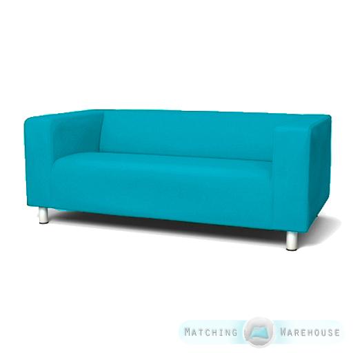 schutzh lle f r ikea klippan 2 sitzer sofa polstersofa h lle sofa baumwollgarn ebay. Black Bedroom Furniture Sets. Home Design Ideas
