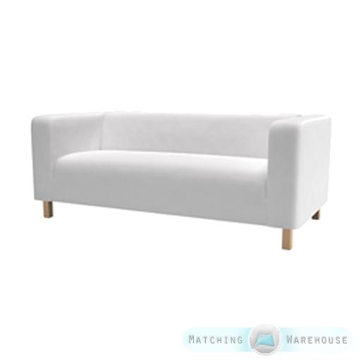 husse f r ikea klippan 2 seater sofa berwurf zweisitzer baumwolltwill. Black Bedroom Furniture Sets. Home Design Ideas