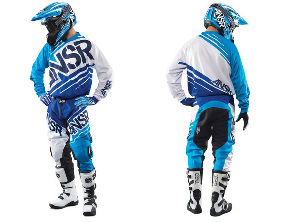 Riding Gear Set Trousers And Shirt Answer Mx Synchron