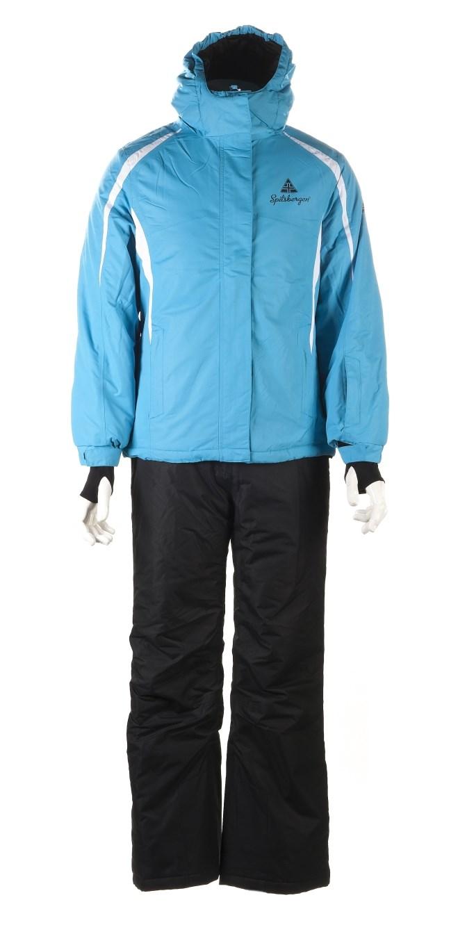 spitsbergen damen skianzug skijacke skihose schneeanzug winterjacke hose blue ebay. Black Bedroom Furniture Sets. Home Design Ideas