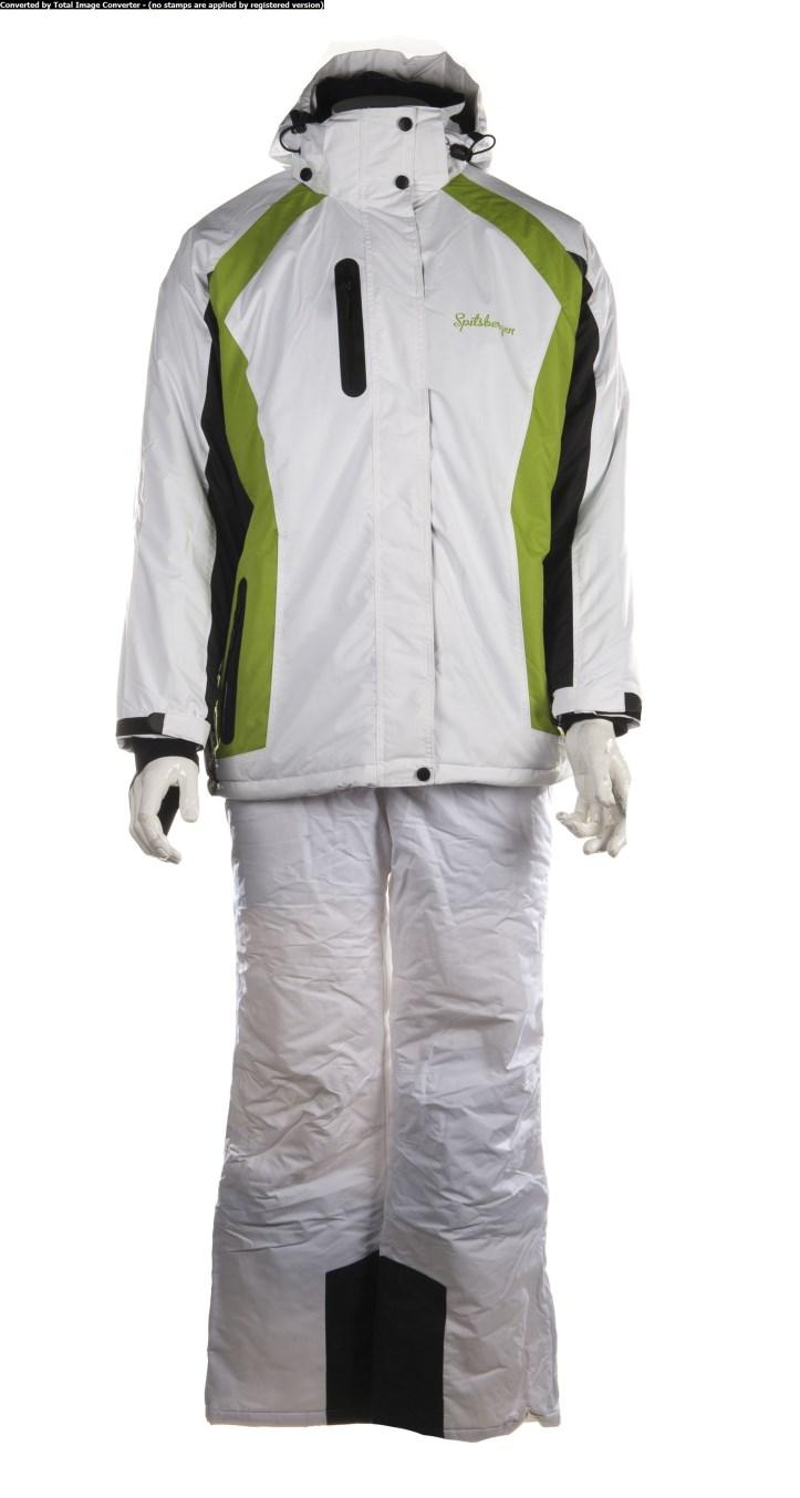 spitsbergen damen skianzug skijacke skihose schneeanzug winterjacke hose white ebay. Black Bedroom Furniture Sets. Home Design Ideas