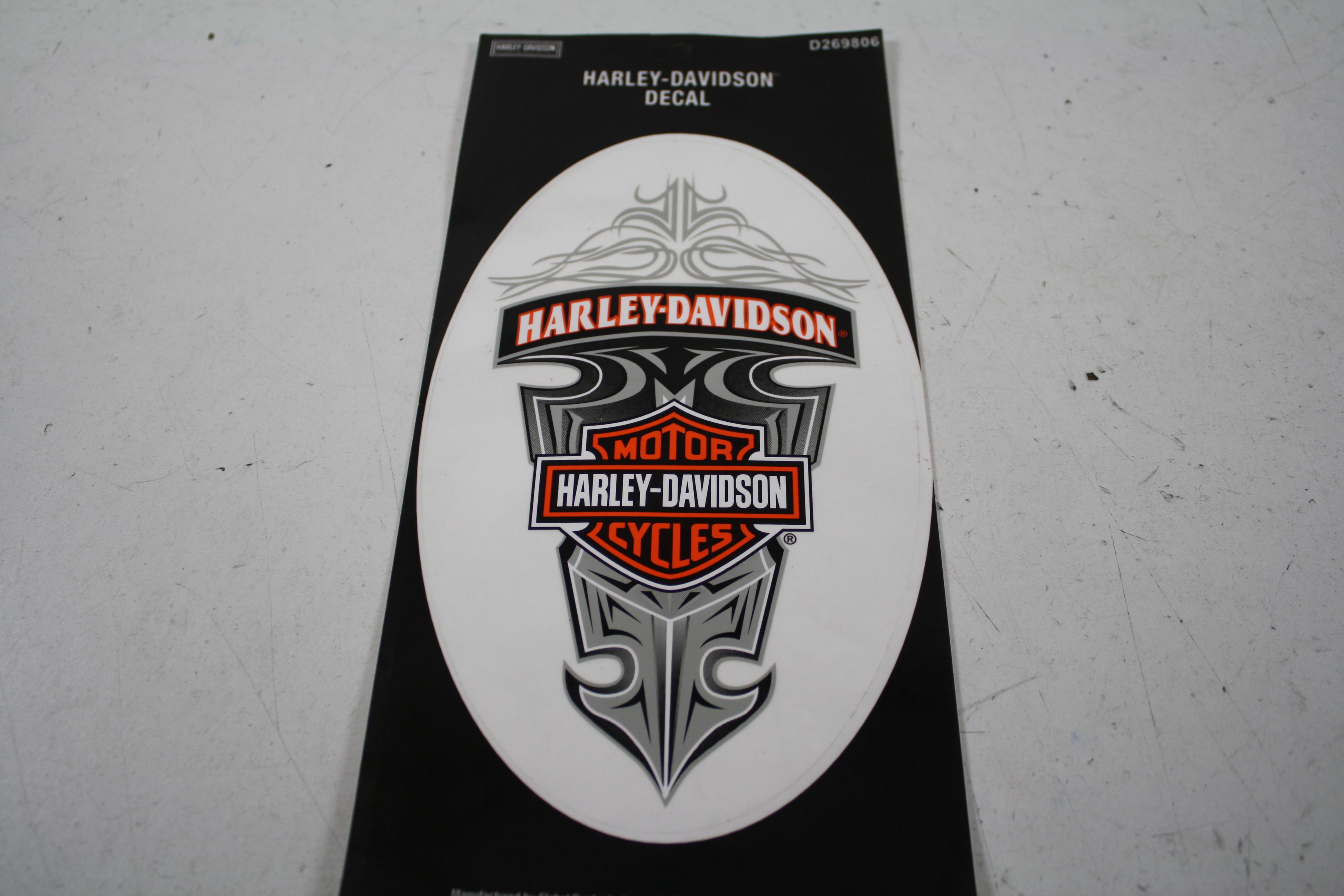 harley davidson aufkleber decal sticker d269806 ebay. Black Bedroom Furniture Sets. Home Design Ideas