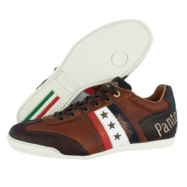 pantofola d 39 oro ascoli cortina low men sneaker schuhe shoe bison size 42 ebay. Black Bedroom Furniture Sets. Home Design Ideas