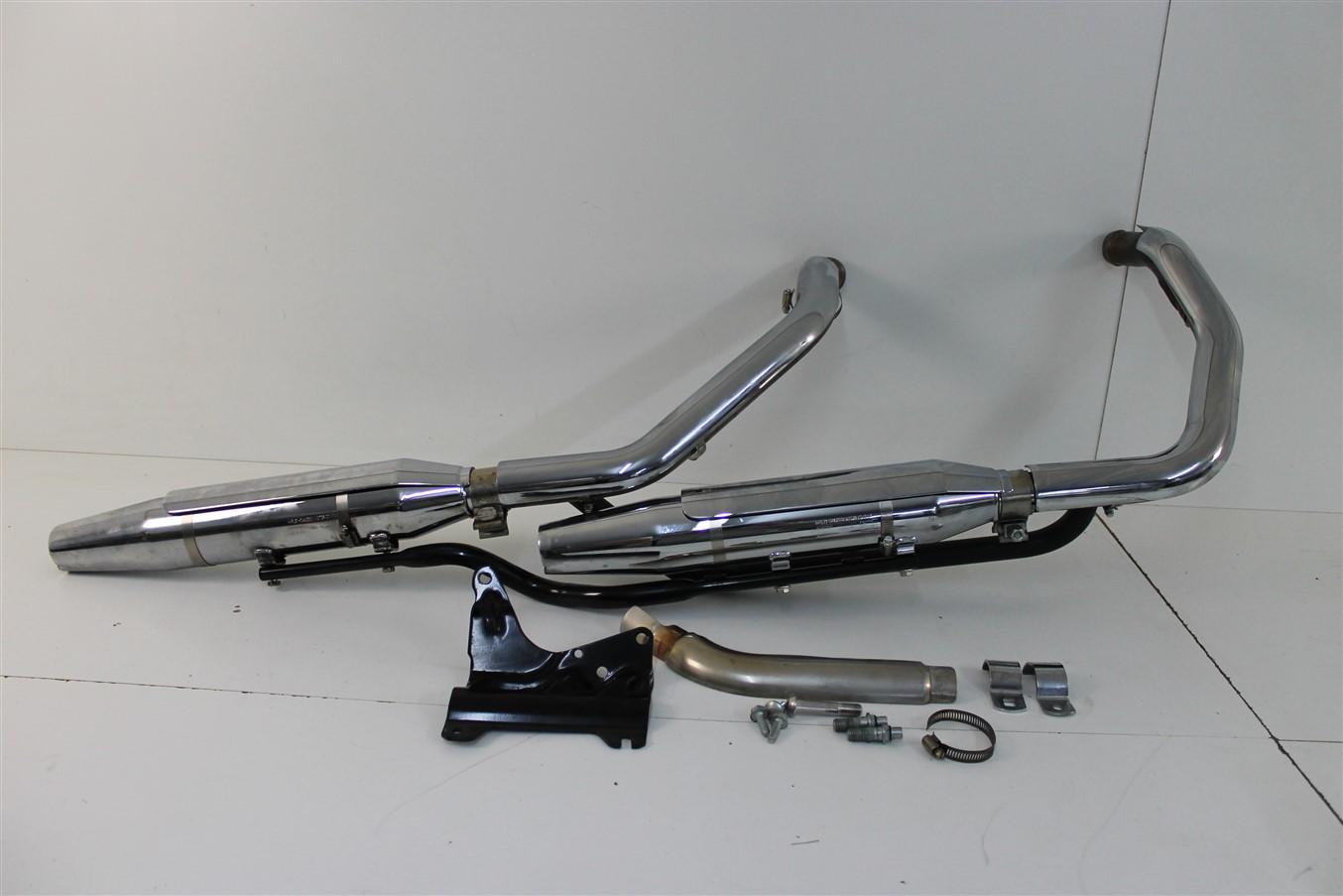 harley davidson sportster iron 883 exhaust system. Black Bedroom Furniture Sets. Home Design Ideas