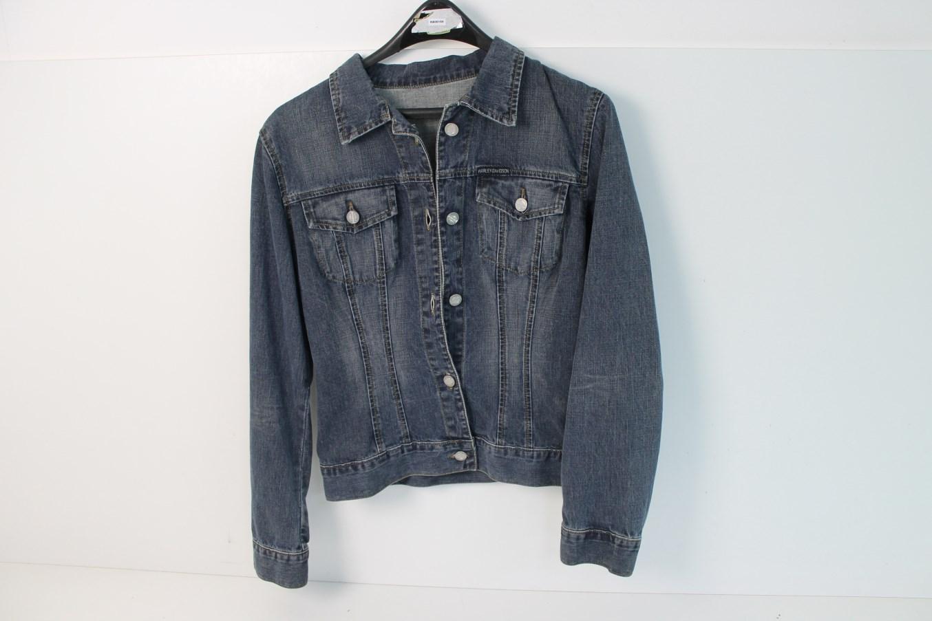 harley davidson hommes veste des hommes jeans taille m ebay. Black Bedroom Furniture Sets. Home Design Ideas