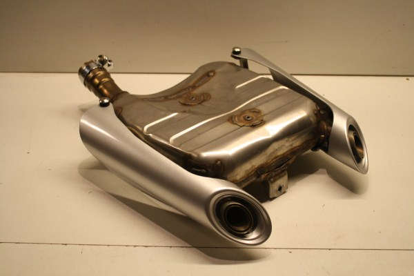 suzuki gsr600 gsr 600 pot d 233 chappement du silencieux exhaust muffler uitlaat cat 2006 2011 ebay