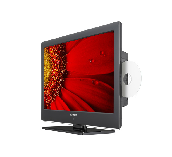 Sharp LC22DV240K Open Box New LCD Television 22 Inch HD