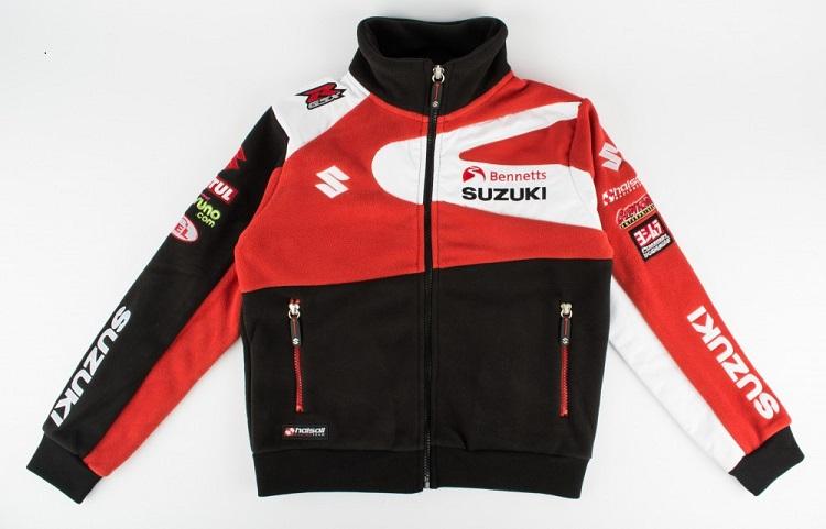 Genuine Suzuki Team Bennetts BSB 2016 Unisex Fleece Jacket With ...