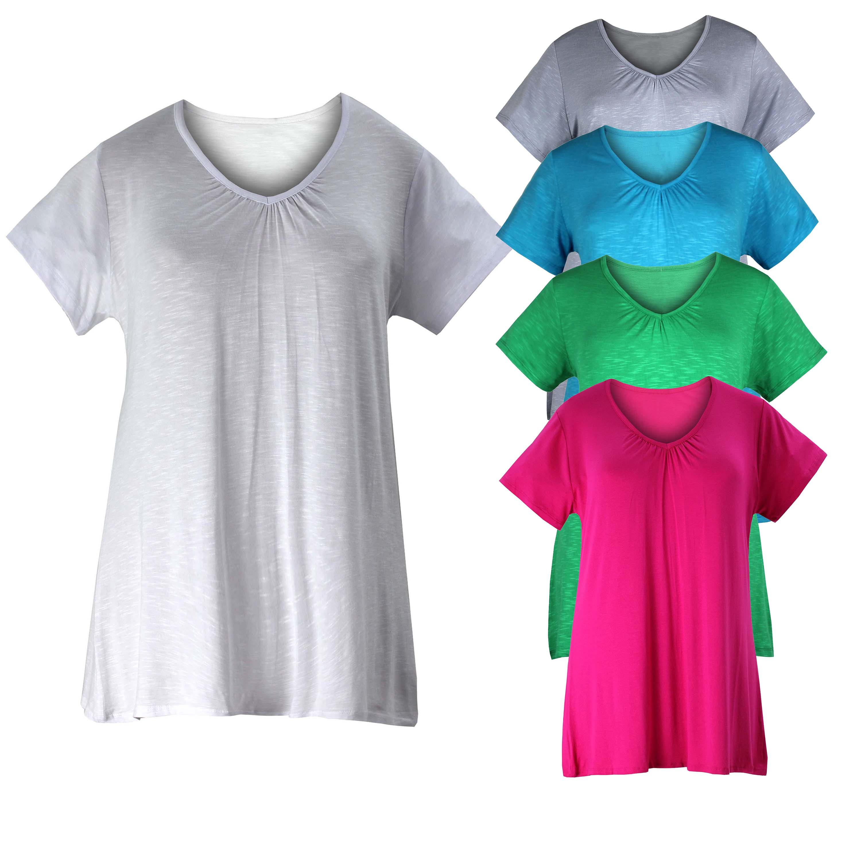 Creative Expression Short Sleeve Tunic $ $ $ Fan of Fun Knit Tunic in Dinosaur $ Fan of Fun Knit Tunic in Watermelon $ $ $ Swing Into Sweetness Sleeveless Tunic $ Tunics are terrific for adding length and dimension to your everyday wardrobe.
