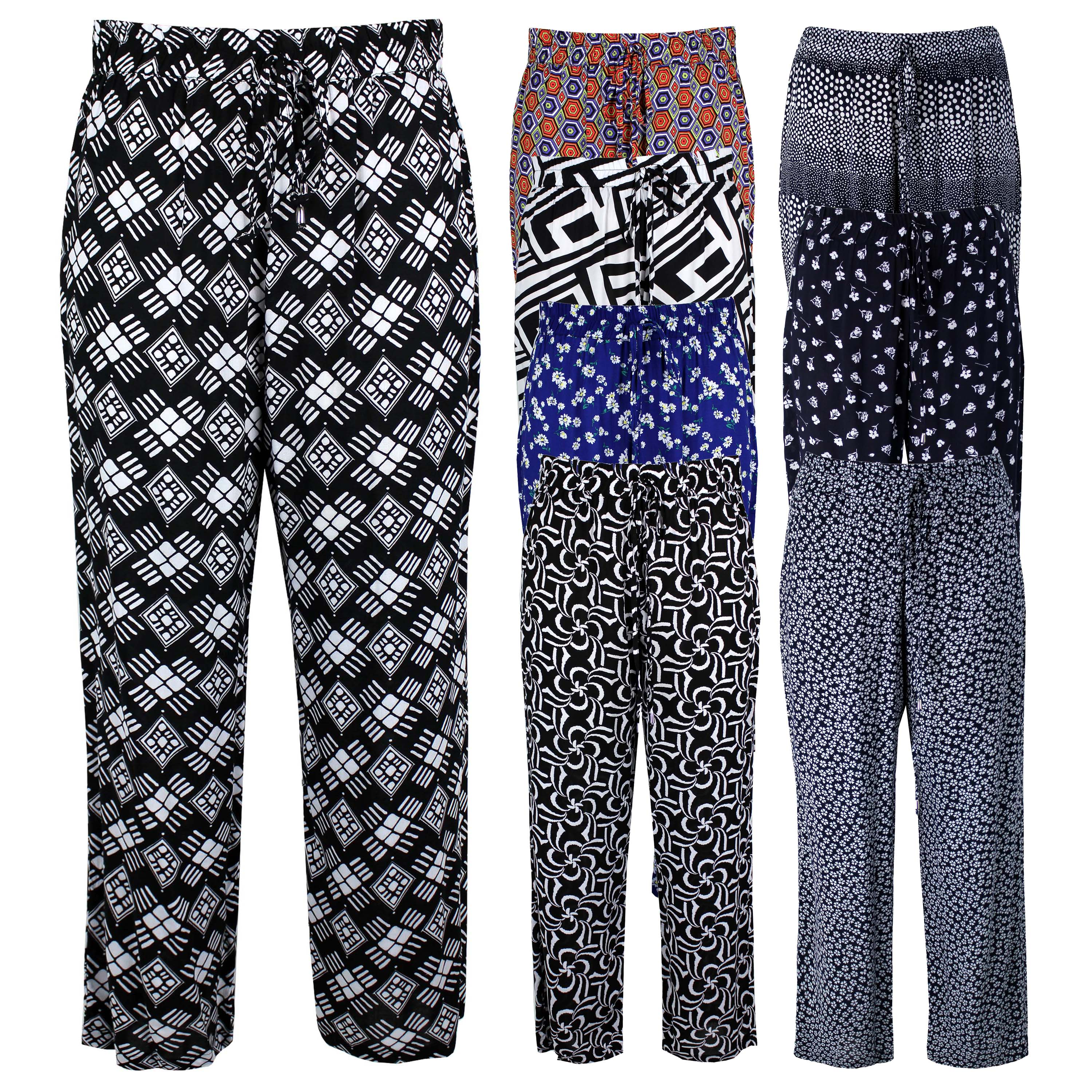 Wonderful  Waist LooseFitting Printed Women39s Exumas Pants  TwinkleDealscom