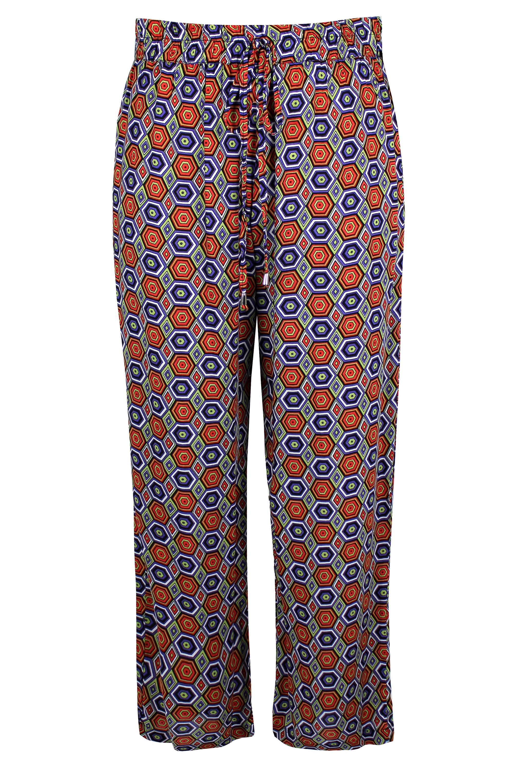 Stylish Mid-Waisted Printed Loose-Fitting Women's Exumas Pants (41% OFF) (1) I like these pants because they are so colorful and you can change the look by w.