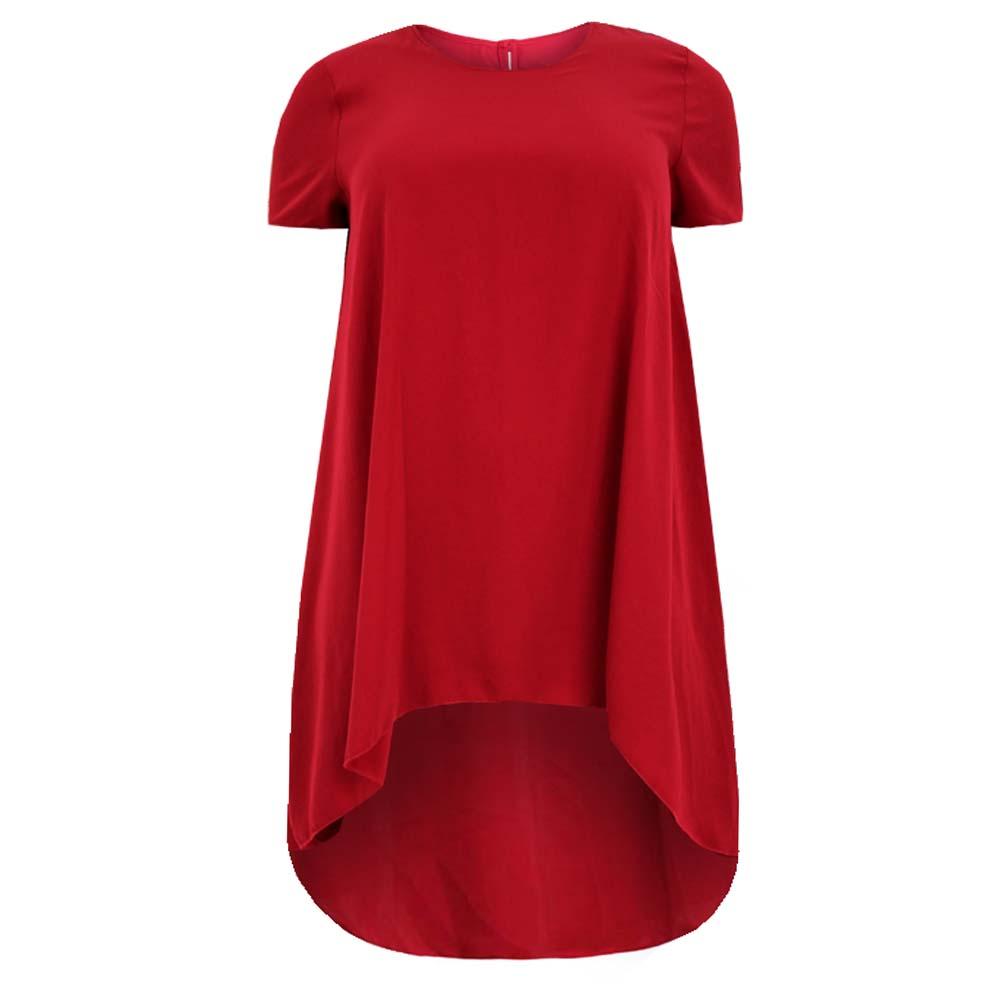 Hem Dress Dress-dipped-hem-short