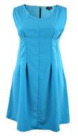 Lovedrobe A-Line Dart Detail Midi Dress Sky Blue