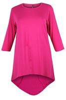 Lovedrobe Pink Basic Dipped Hem Tunic