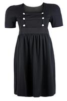 Ladies Black Military Style Dress