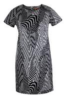 Lovedrobe GB Abstract Print Shift Dress