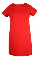 Lovedrobe GB Red Crepe Shift Dress