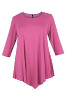 Lovedrobe Dusky Pink Three Quarter Sleeve Basic Tunic