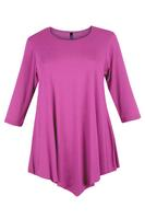 Lovedrobe Baby Pink Three Quarter Sleeve Basic Tunic
