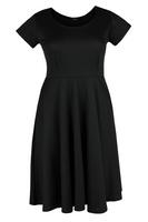 Koko Black Basic Skater Dress