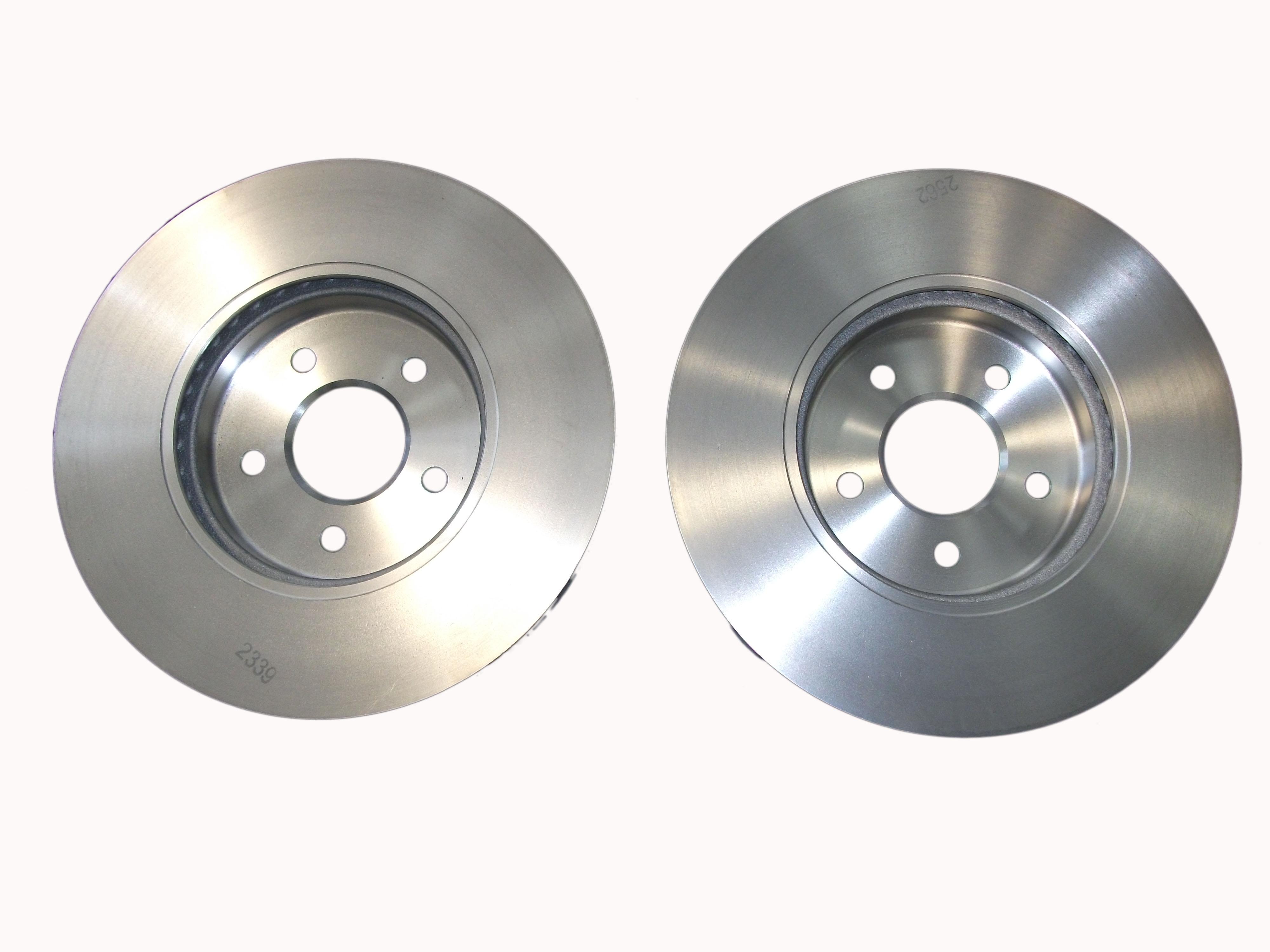 new genuine ford mondeo mk3 front brake discs 2000 2007 1681578 ebay. Black Bedroom Furniture Sets. Home Design Ideas