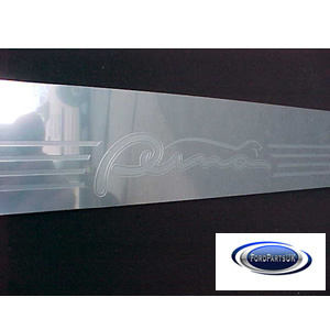 Ford Puma &quot;Aluminium look&quot; Scuff plates