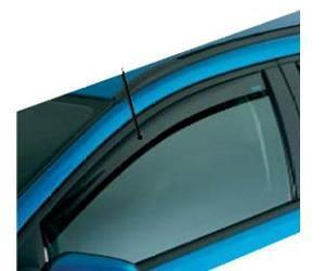 Ford Fiesta 2008-Front DARK TINT Air Deflector Kit,08>