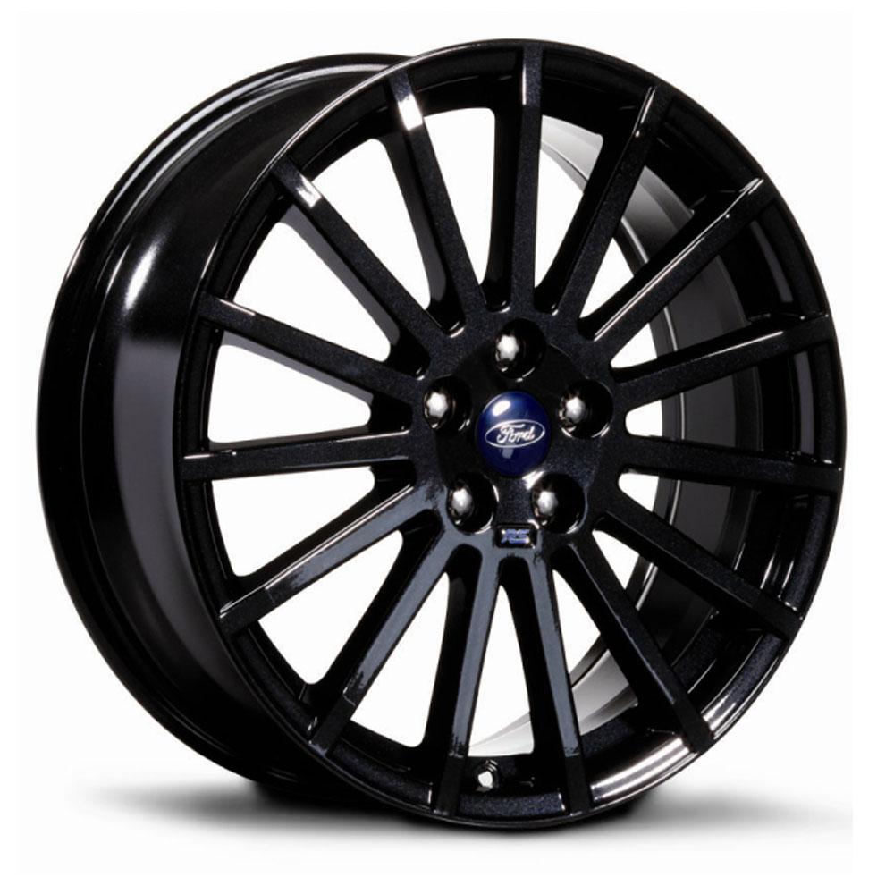 genuine ford rs  alloy wheels  black  tyres ebay