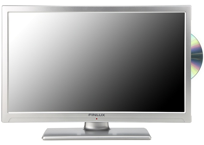 finlux 22 39 39 led tv dvd combi multi region full hd 1080p freeview pvr silver ebay. Black Bedroom Furniture Sets. Home Design Ideas