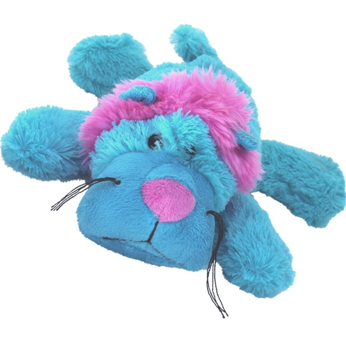Kong Plush Cozies Dog Toy Soft Teddy Squeaky Animal