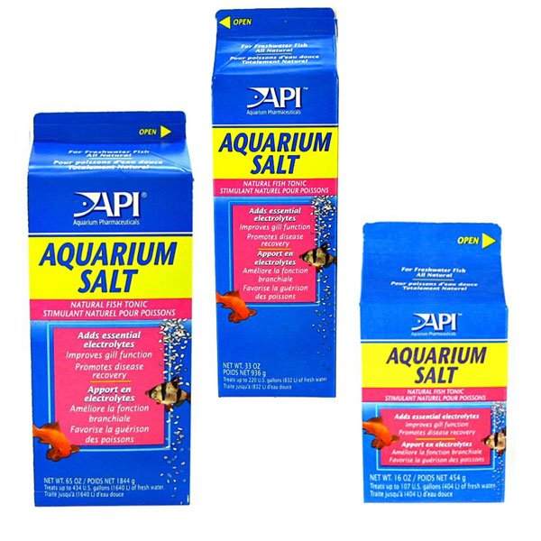 Api Aquarium Tonic Salt Water Conditioner 454g 933g Fish