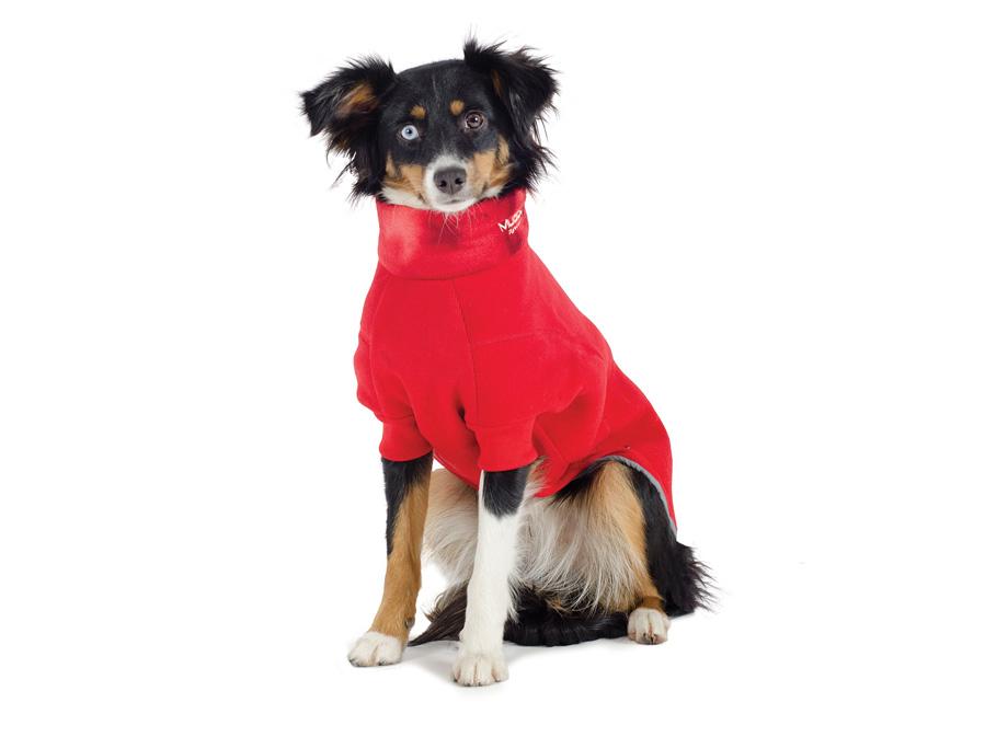 Ancol Dog Coat Cosy Polar Fleece Dog Coats Thermal Dog Coat Red Various Sizes