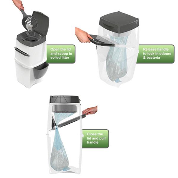 Litter Locker Disposable Bin Cat Litter Bin Amp Refill Ebay