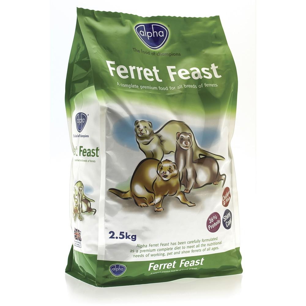 Alpha Ferret Food 2.5kg & 10kg Bags