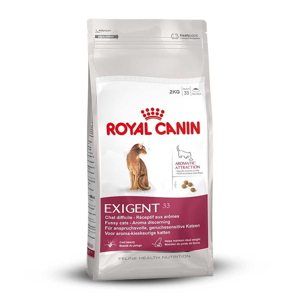 royal canin dry cat food exigent aromatic attraction 33 for fussy adult cats ebay. Black Bedroom Furniture Sets. Home Design Ideas
