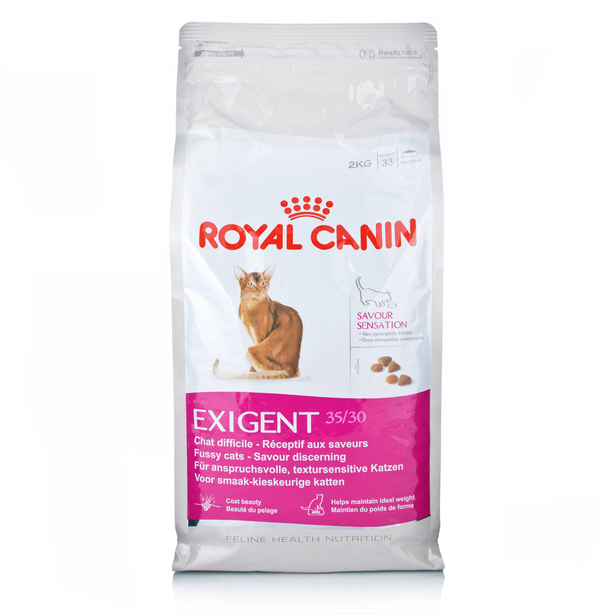 royal canin dry cat food exigent protein 42 for fussy adult cats ebay. Black Bedroom Furniture Sets. Home Design Ideas