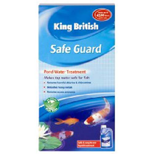 king british safe guard tap water fish pond treatment